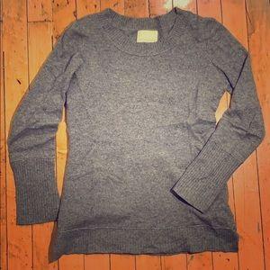 100% cashmere Cynthia Rowley crewneck sweater